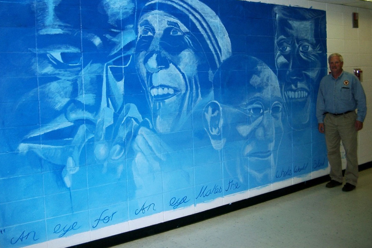 100 Ideas to Improve School Climate - wall mural
