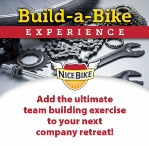 Nice Bike Build-a-Bike Experience and team building exercise.