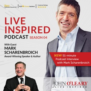 Listen to a recent podcast interview with Mark by John O'Leary