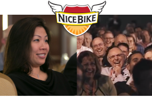 The Nice Bike message is universal, appealing to all audiences.