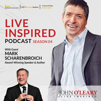 Live Inspired podcast interview with Mark Scharenbroich