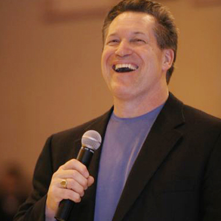 Mark Scharenbroich professional speaker early career